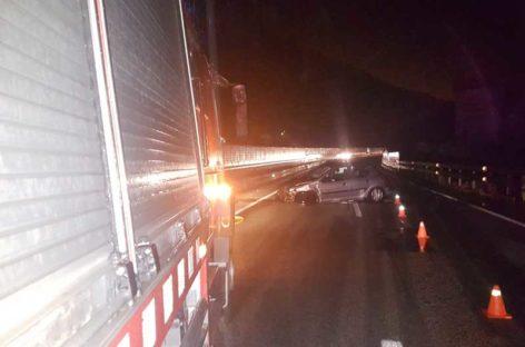 El episodio de lluvias se salda con un herido y diversas incidencias viarias en el norte de la comarca