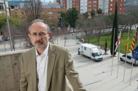 La familia del alcalde socialista de Mollet amenazado por independentistas radicales