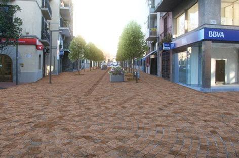Cardedeu ampliará la zona peatonal en la zona de la carretera de Cànoves