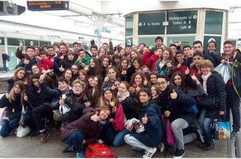 Un grupo escolar de Mollet vivió en vivo y en directo los atentados de Londres