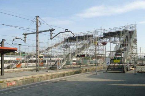 Renfe retirará la polémica pasarela provisional de Granollers Centre el 31 de agosto