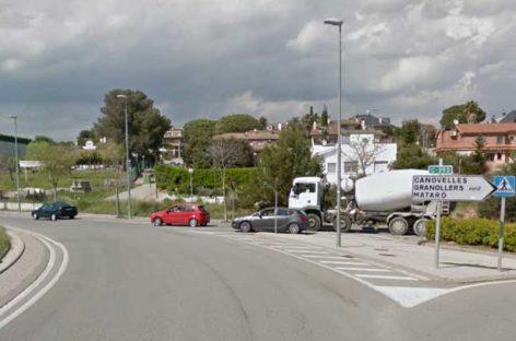 Un motorista de 50 años fallece en un accidente en la Ronda Nord, en Canovelles