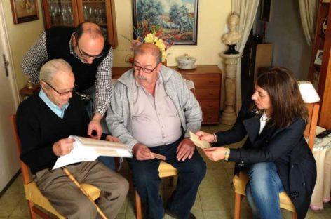 La Garriga consigue que dos familias se reencuentren 78 años después