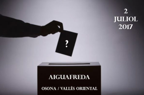 Aiguafreda suspende la consulta vecinal sobre si se quiere seguir en el Vallès Oriental o unirse a Osona