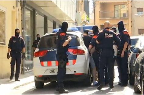 Dos detenidos en Mollet en una operación contra el tráfico de drogas
