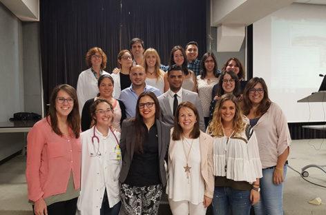 Acto institucional para despedir a 20 médicos e enfermeras del Hospital de Granollers