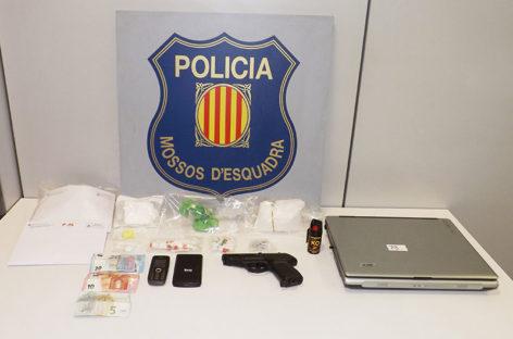 """En libertad tres """"narcos"""" cazados en Mollet con casi un kilo de drogas"""