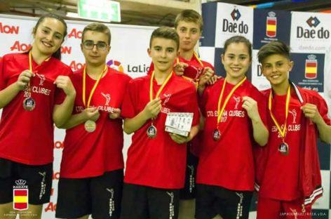 El club Karate Nokachi Les Franqueses  sexto en el Campeonato de España de clubes