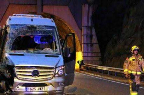 Un error humano podría ser el culpable del doble accidente mortal de los túneles de El Figaró
