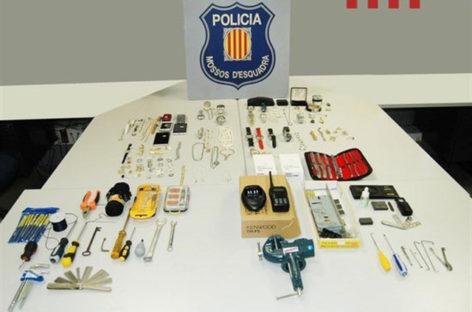 Prisión para dos hombres que robaron en un piso de Granollers