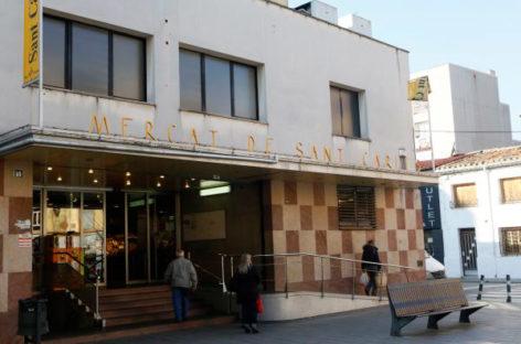 Empiezan las obras de modernización del Mercat de Sant Carles de Granollers