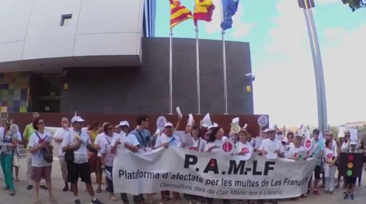 La fiscalía archiva la denuncia colectiva contra el alcalde de Les Franqueses por las multas