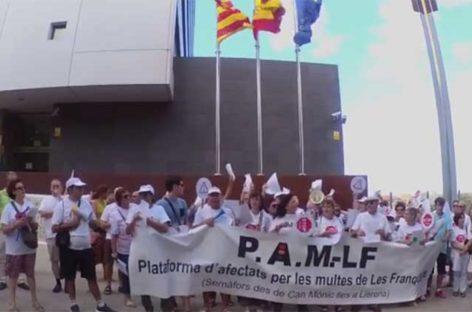 Denuncia colectiva ante la fiscalía contra el alcalde de les Franqueses por los semáforos