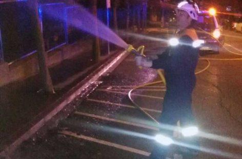 La Verbena de Sant Joan deja un balance de un centenar de incendios en una noche