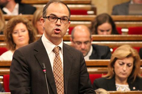 La fiscalía se querella contra Jordi Turull por un presunto delito de alzamiento de bienes