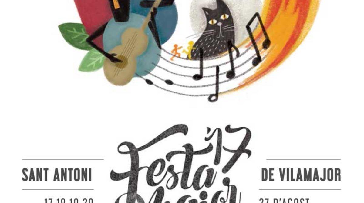 Sant Antoni de Vilamajor mantiene los actos de Festa Major pese al duelo oficial por los atentados yihadistas de Barcelona y Cambrils