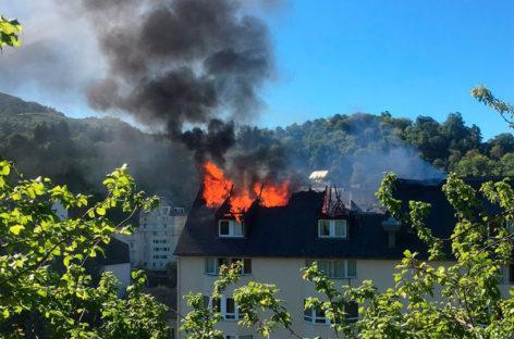 Un ex-vecino de Mollet fallece en un incendio en Francia