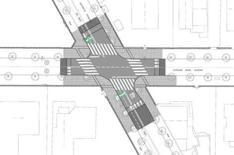 Mejoran la seguridad del cruce de la Avinguda Vilamajor con la BV-5103 en Cardedeu