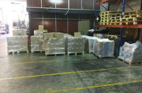 La Guardia Civil incauta más de 1'3 millones de carteles del 1-O en Montcada