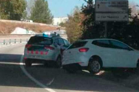 Los Mossos detienen a un delincuente en Mollet tras una persecución por la C-17