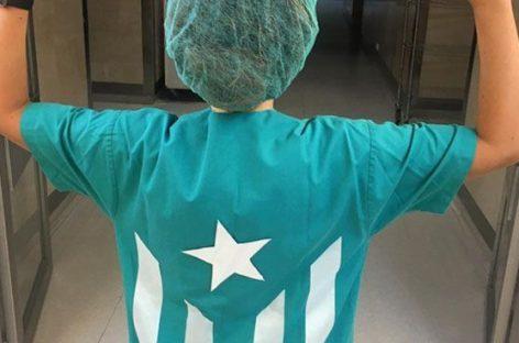 Polémica porque una sanitaria del Hospital de Granollers personaliza su uniforme con una estelada