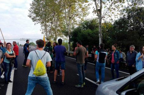 El Vallès Oriental queda paralizado por la Huelga General
