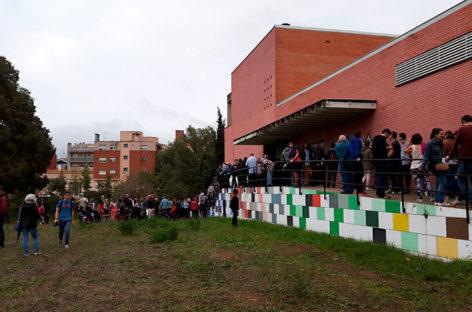 Menos de la mitad de los electores del Vallès Oriental acudieron a votar el 1 de octubre