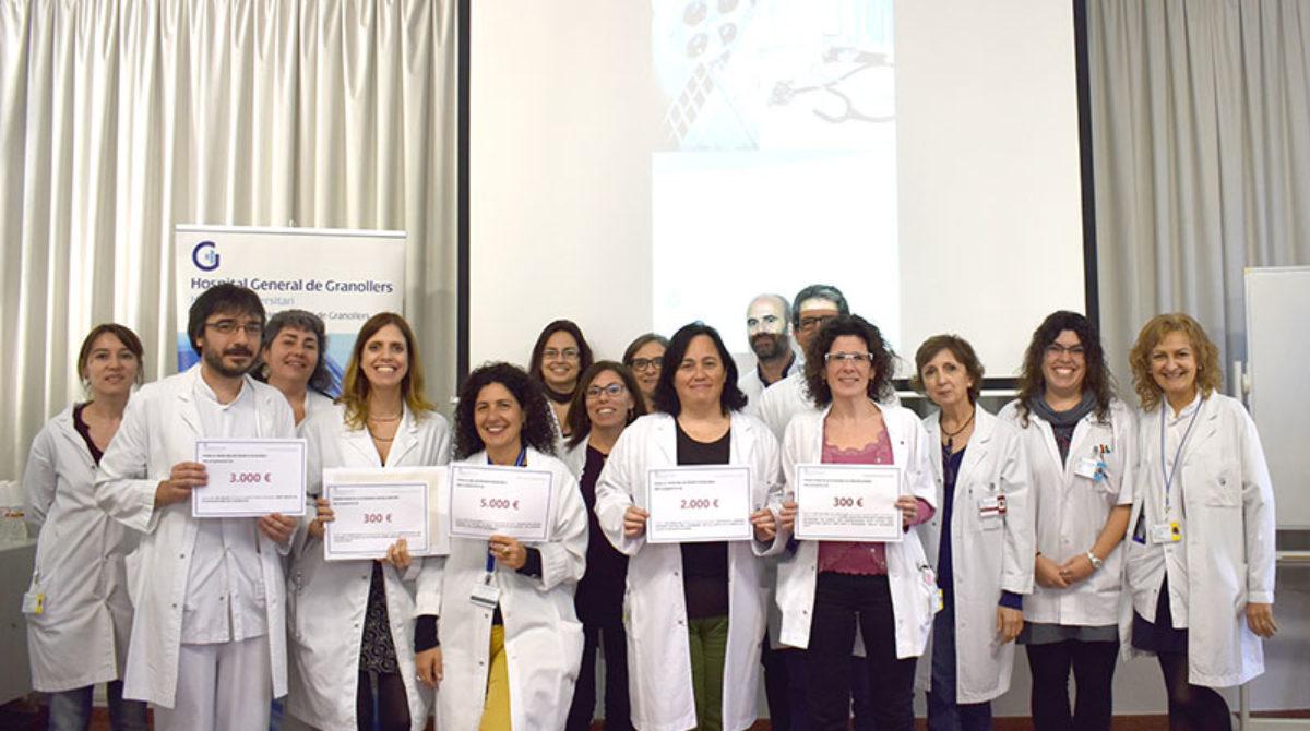 L'Hospital de Granollers fa entrega dels premis Carles Vallbona als millors projectes de recerca