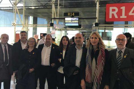 La fiscalía archiva la denuncia por supuesta malversación contra los alcaldes del Vallès Oriental que visitaron a Puigdemont