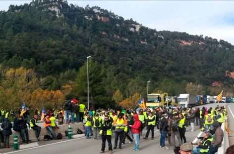 Escaso seguimiento de la huelga en el Vallès Oriental pese a provocar graves problemas de movilidad