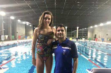 La nadadora Júlia Pujadas, del CN Granollers, se prepara para representar a España en el Europeo de Helsinki