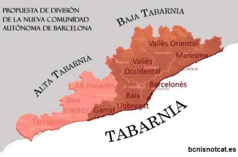 Una plataforma propone separar varias comarcas, entre ellas el Vallès Oriental, de Catalunya para formar una nueva comunidad