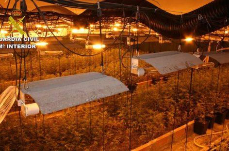 La Guardia Civil encuentra en Llinars tres toneladas de marihuana y detiene a un vecino de Lliçà de Vall
