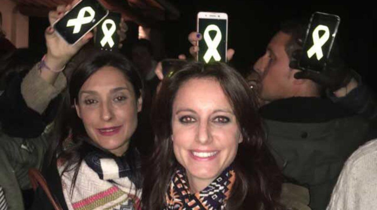La dirigente del PP Andrea Levy sufre un escrache en el Pessebre Vivent de Sant Fost