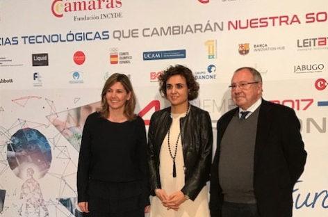 Dolors Montserrat reivindica Barcelona como capital innovadora y plural