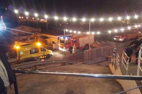 Cuatro heridos en la discoteca Aigua de Granollers al hundirse un falso techo en plena sesión nocturna