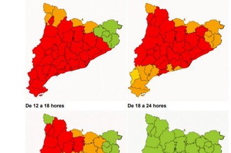 Protecció Civil activa el plan de emergencias por nevadas entre hoy y el miércoles