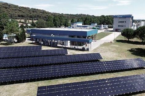 Almirall pone en marcha en Sant Celoni una planta fotovoltaica pionera en España