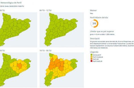 Vuelve el frío y el riesgo de nevadas al Vallès Oriental