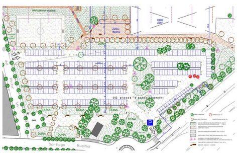 Montmeló adecua un aparcamiento para más de 300 coches al lado de la estación de tren
