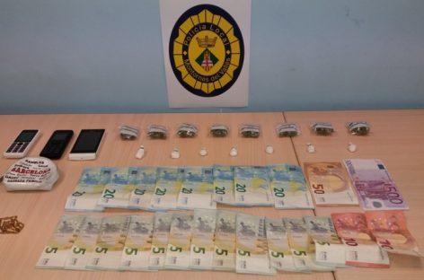 Detenidos dos vecinos de Montornès por tráfico de drogas