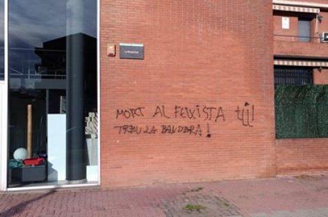 Amenazas de muerte contra un vecino de Granollers por poner la bandera española