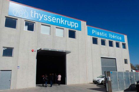 Thyssenkrupp Plastic Ibérica inaugura nuevas instalaciones en Mollet