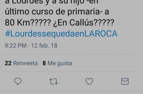 Controversia entre la PAH y Ayuntamiento de La Roca por realojar una desahuciada y a su hijo a 80 kilómetros del municipio