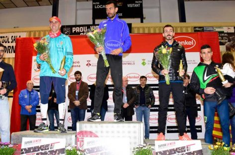 Driss Lakhouaja i Jessica Bonet guanyen la 25Mitja Montornès en la que han participat 2000 atletes