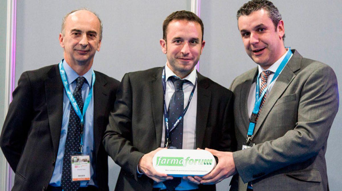 Dara de Granollers recibe el Premio Farmaforum a la mejor empresa de servicios para la industria farmacéutica