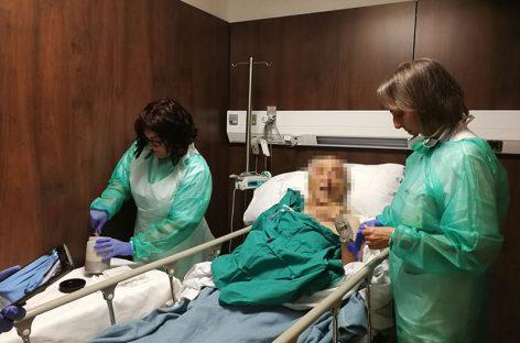 El Hospital de Granollers culmina con éxito su primer transplante fecal