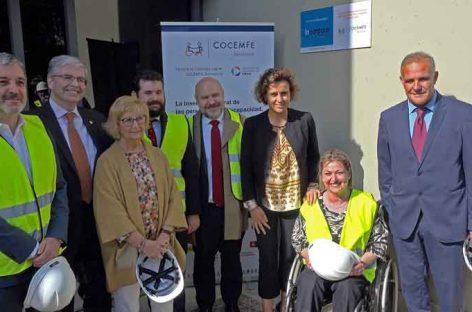COCEMFE Barcelona, Obra Social 'la Caixa' y el Consorci de la Zona Franca se unen para impulsar la inserción laboral de las personas con discapacidad en el marco industrial