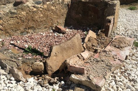Unos desaprensivos provocan importantes daños en la villa romana de Can Terrers de La Garriga