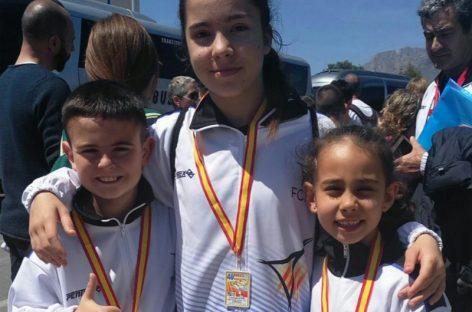 Iria Esteban del Nokachi Les Franqueses es proclama campiona d'Espanya Kumite per tercera vegada